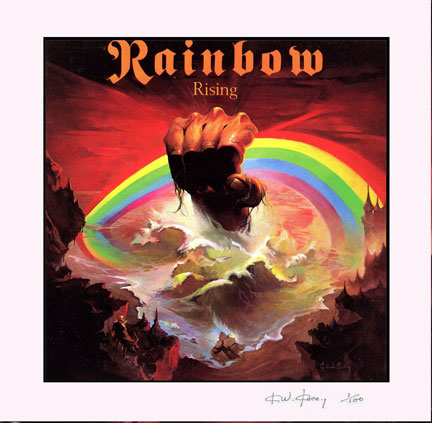 Rainbow Rising Limited Edition Print